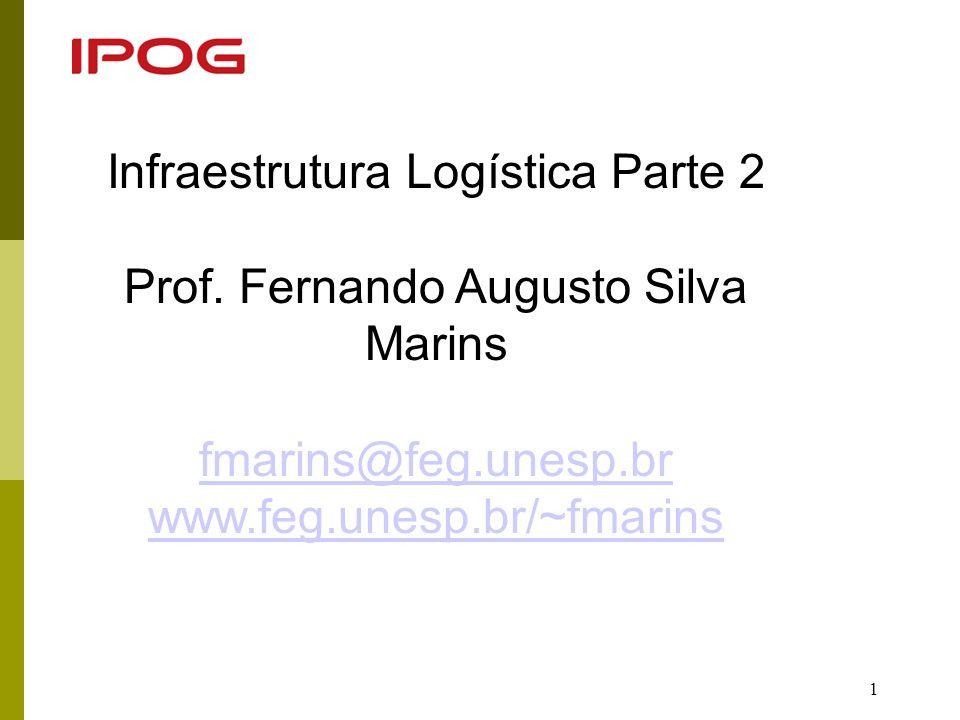 22 Conceito de Operador Logístico (OL) Um OL é uma empresa prestadora de serviços, especializada em gerenciar e executar todas ou parte das atividades logísticas nas várias fases da Cadeia de Abastecimento.