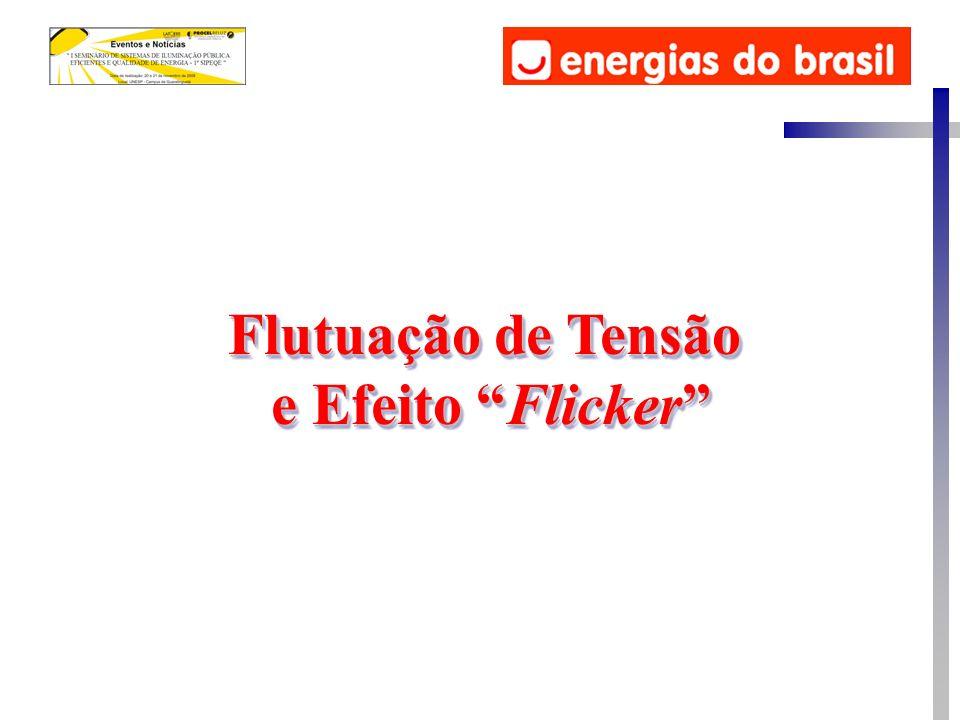Flutuação de Tensão e Efeito Flicker Flutuação de Tensão e Efeito Flicker