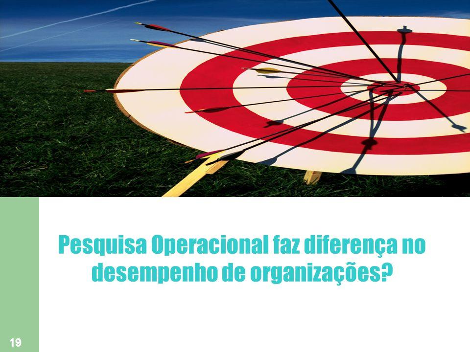 19 Pesquisa Operacional faz diferença no desempenho de organizações?
