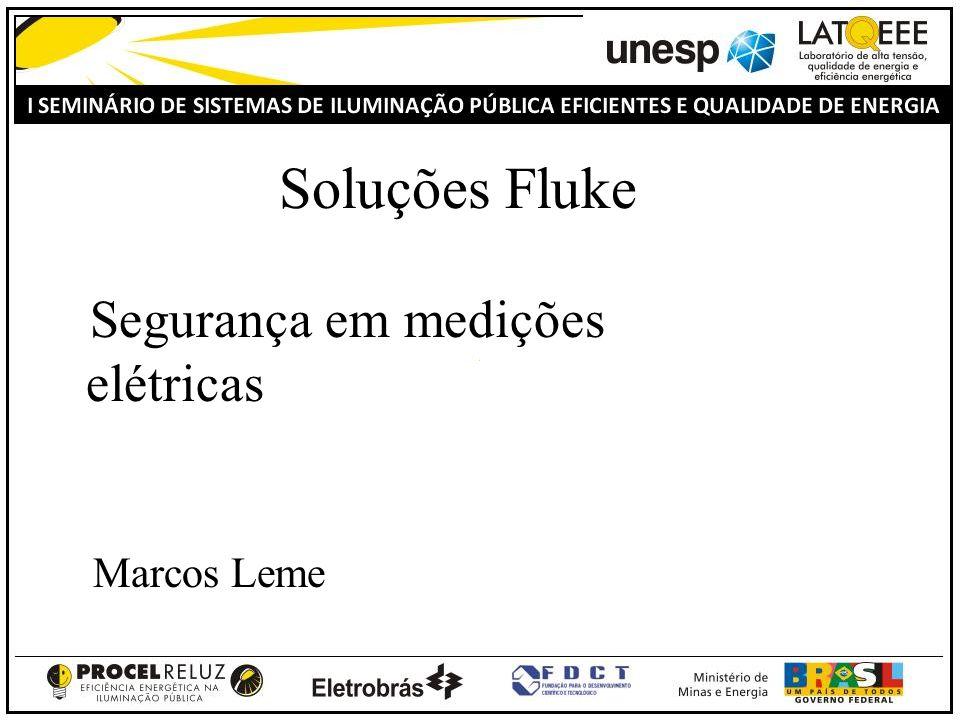 Fluke do Brasil Electrical measurement safety 32 Categorias de Sobre Tensão O nível e energia de impusos de tensão são dependentes da localização.