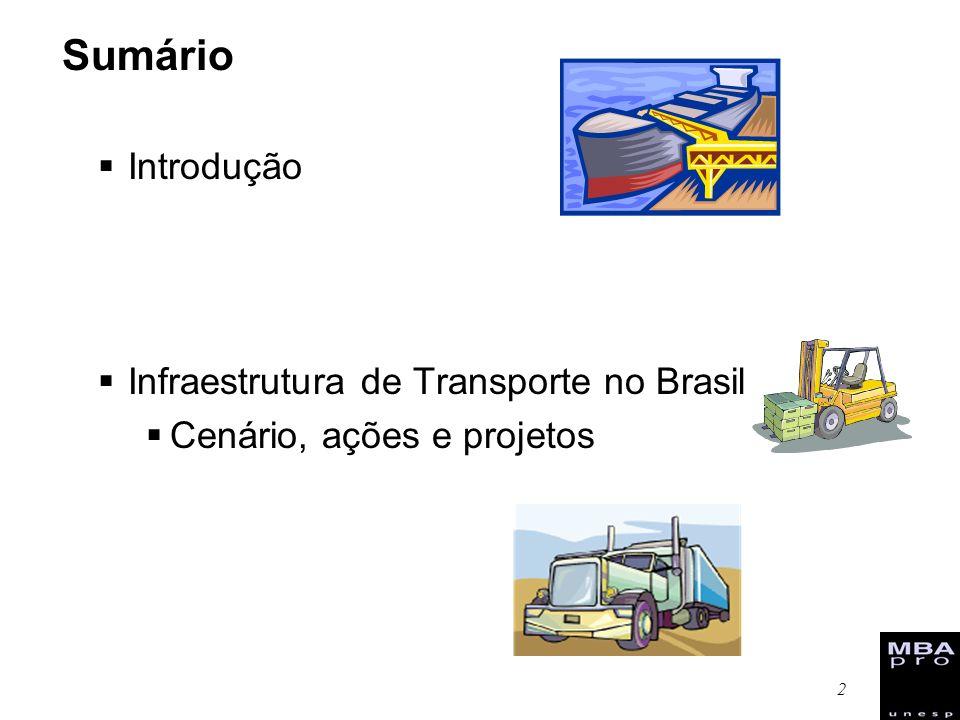 13 Ações: Multimodalidade - integração entre modais de transporte.