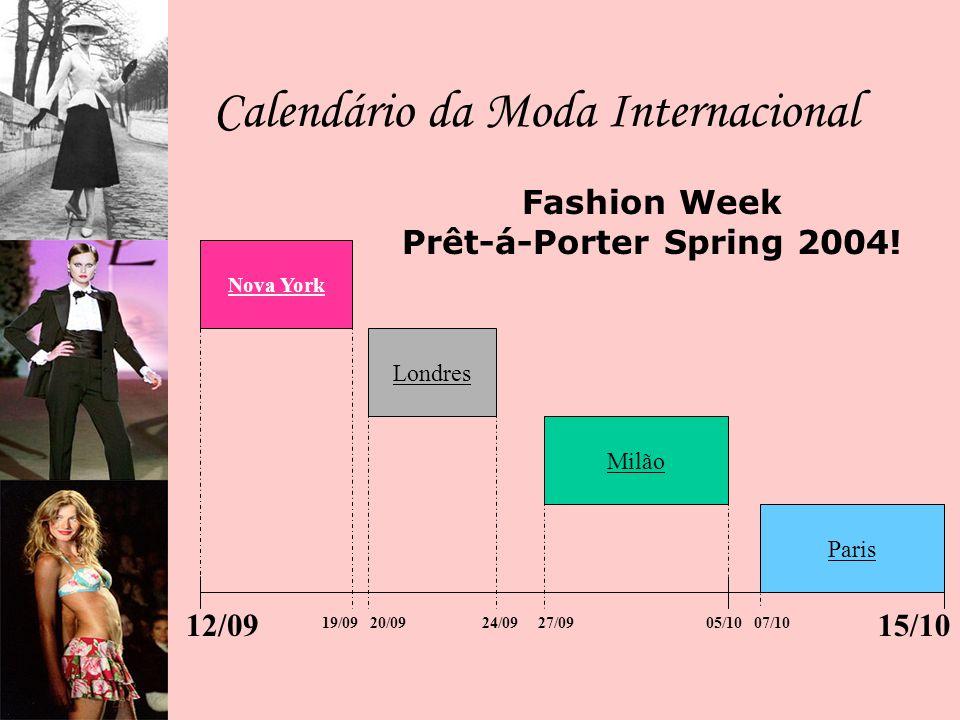 Calendário da Moda Brasileira FASHION RIO SÃO PAULO FASHION WEEK Mannya´s Confecções Coleções Primavera-Verão 2004-2005.
