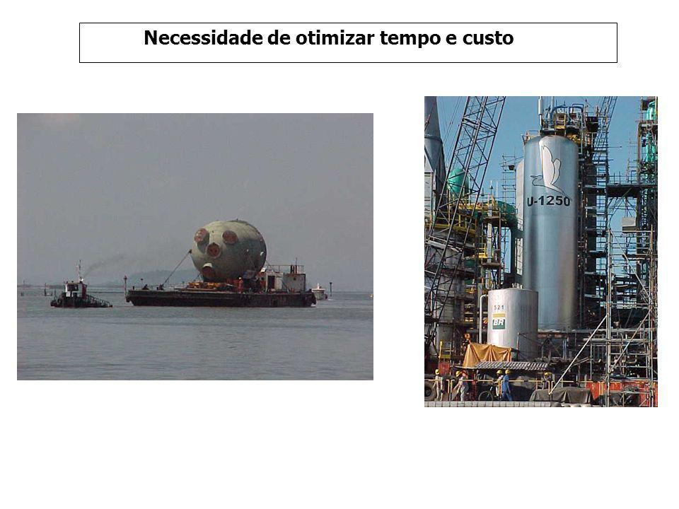 Escopo Efetuar modificações na principal unidade que produz GLP e gasolina na REDUC.