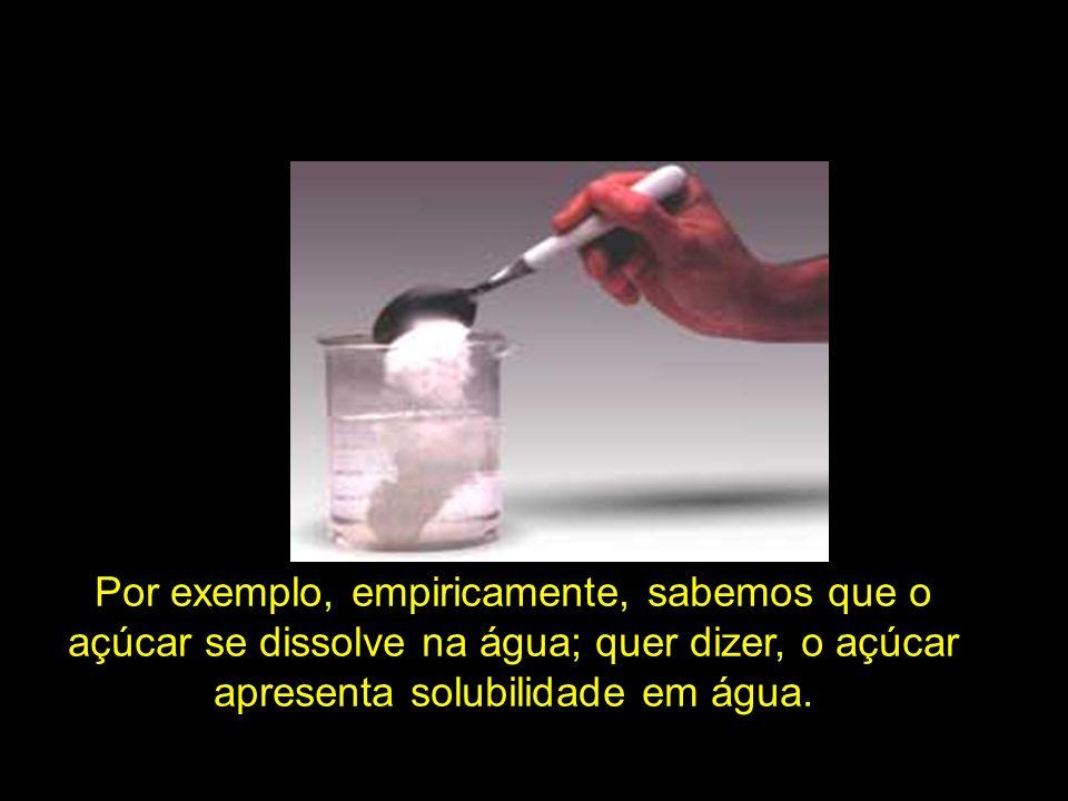 Os componentes da mistura podem ser (A) álcool, água Fe e A.