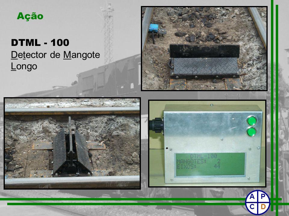 Ação DTML - 100 Detector Detector de Mangote Longo P CD A
