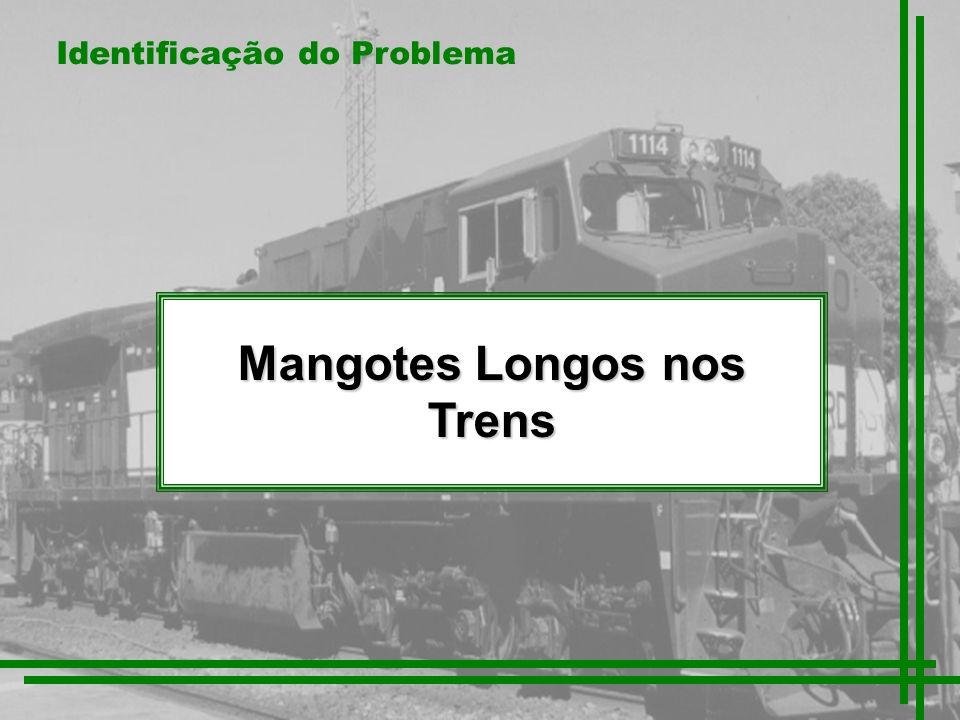 Mangotes Longos nos Trens Identificação do Problema