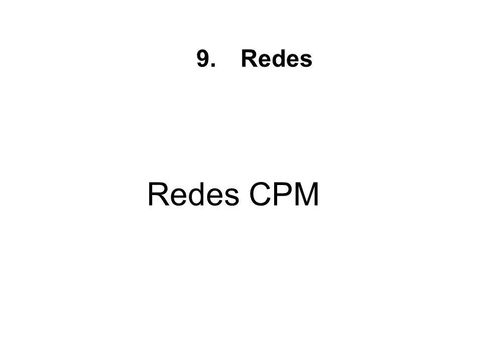 Redes CPM 9.Redes