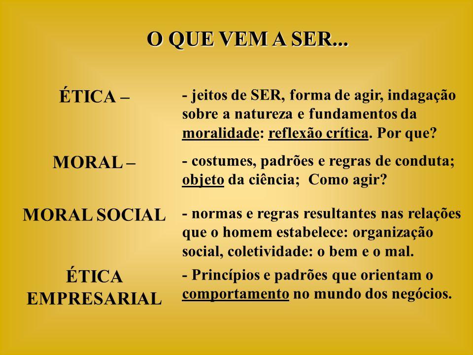 EMPRESAS VISIONÁRIAS Ideologia Central Valores Centrais + Objetivos Valores Centrais + Objetivos COMO É A VIDA DA EMPRESA