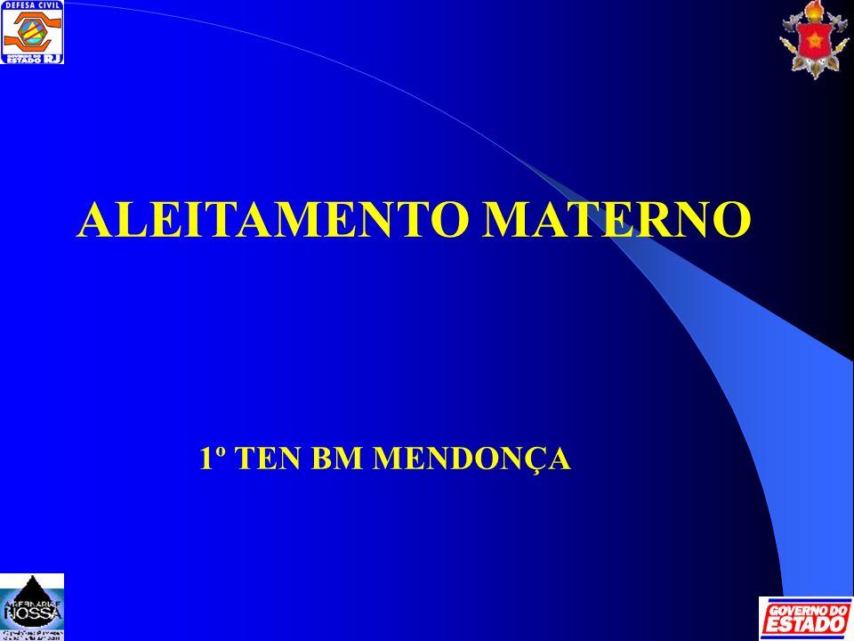 ALEITAMENTO MATERNO 1º TEN BM MENDONÇA