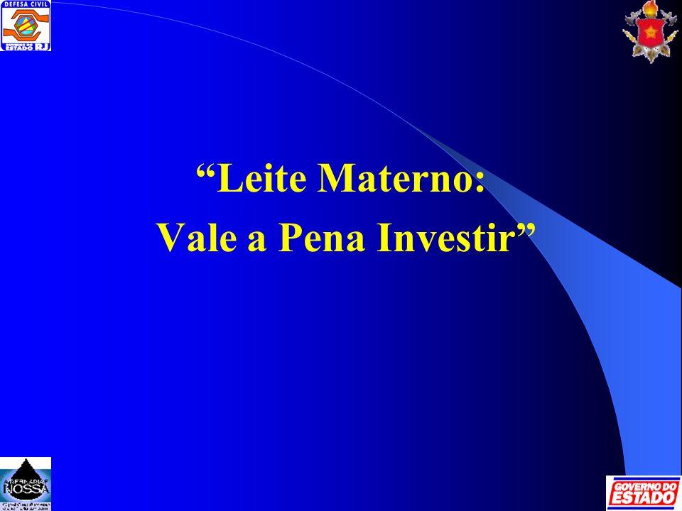 Leite Materno: Vale a Pena Investir