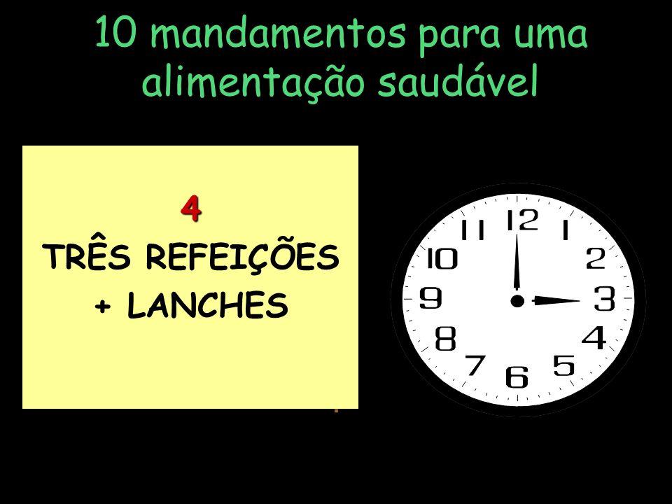 10 mandamentos para uma alimentação saudável 3 EVITAR GORDURAS EFRITURAS