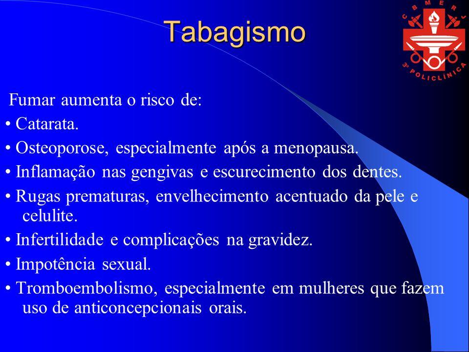 TRATAMENTO MEDICAMENTOSO A importância dos medicamentos O uso de medicamentos auxiliares alivia o desconforto dos sintomas de abstinência e minimiza o ganho de peso relacionado à interrupção do tabagismo, aumentando a perspectiva de sucesso; Cerca de 80% dos fumantes brasileiros querem parar de fumar; Apenas 3% conseguem parar de fumar por conta própria ao final de um ano; O uso de medicamentos otimiza as taxas de sucesso, variando de 30% a 50% ao final de um ano.