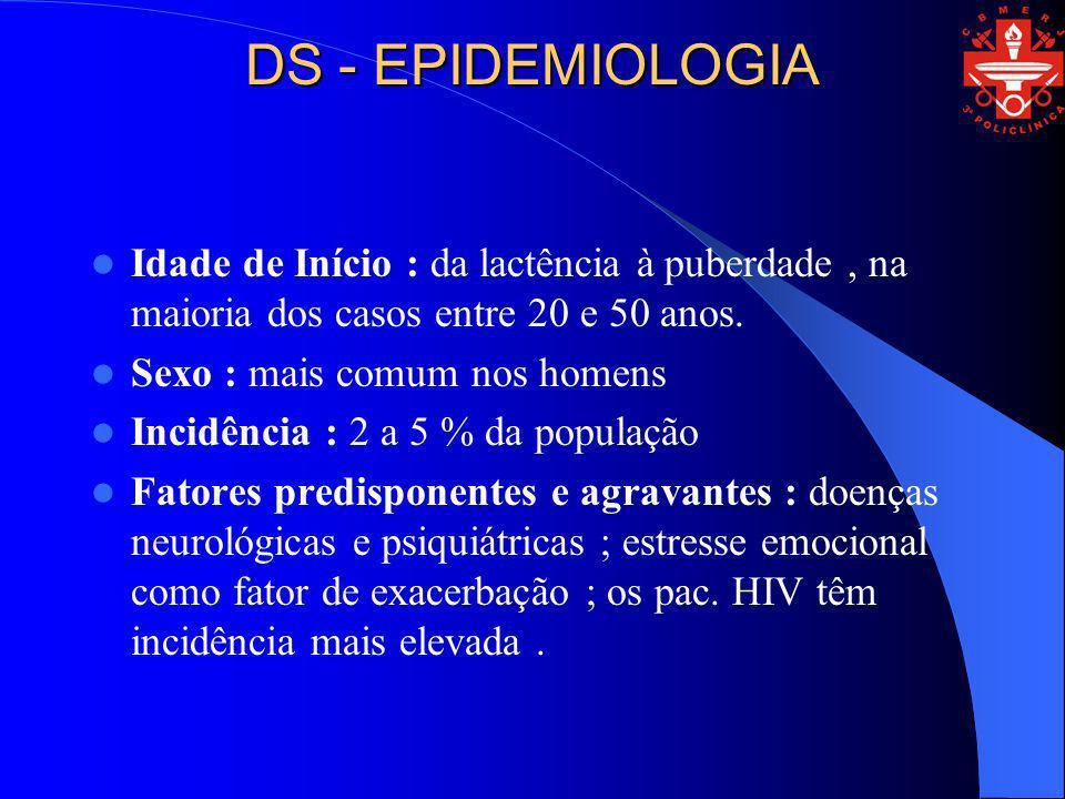 DS - PATOGENIA Participação do Pityrosporum ovale : resposta aos anti micóticos e freqüência elevada em pac.