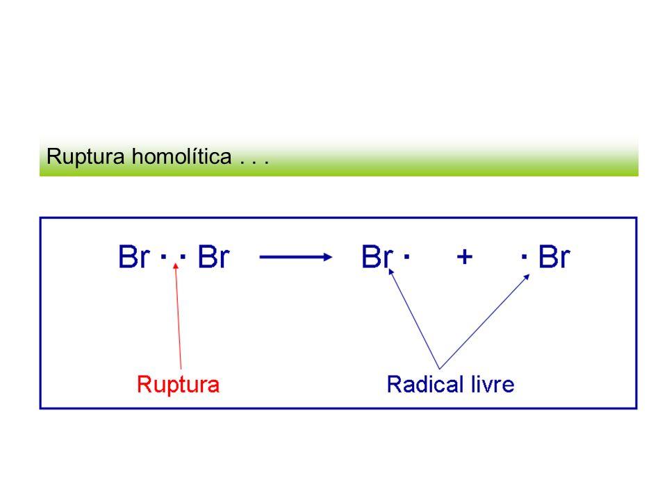 Ruptura homolítica...