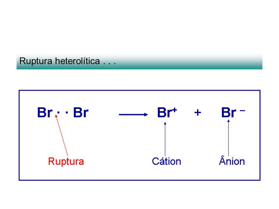 Ruptura heterolítica...