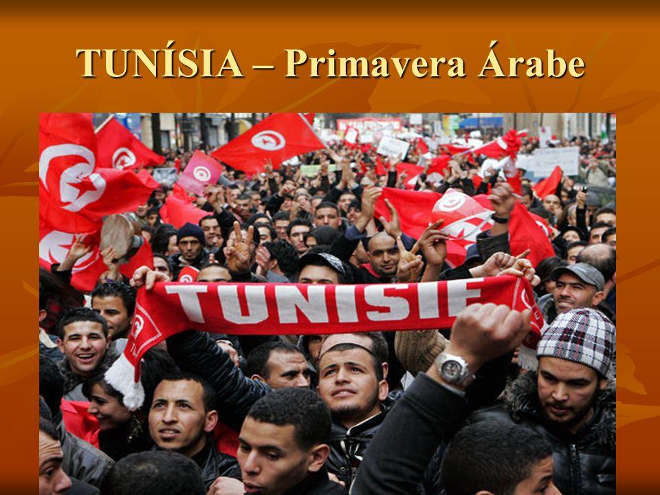 TUNÍSIA – Primavera Árabe