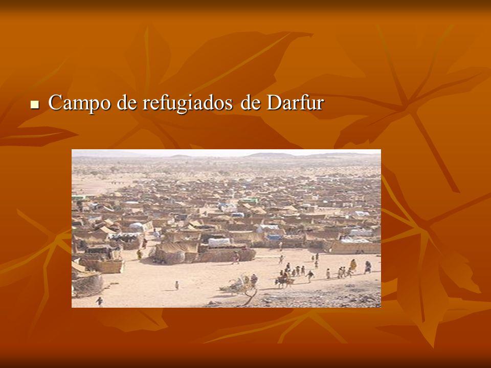 Campo de refugiados de Darfur Campo de refugiados de Darfur