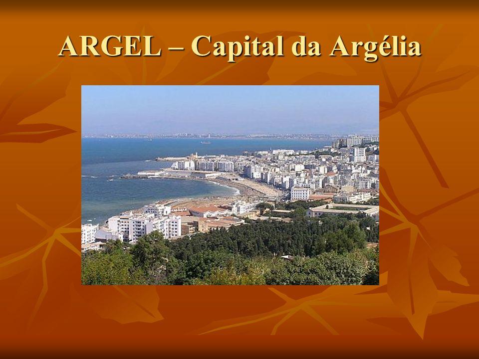 Argélia - Ocupa o maior território na África - Ocupa o maior território na África - Colonizado pela França por 132 anos - Colonizado pela França por 132 anos - Em 1962´conquista a independência,após 10 anos de sangrentos combates com a França.