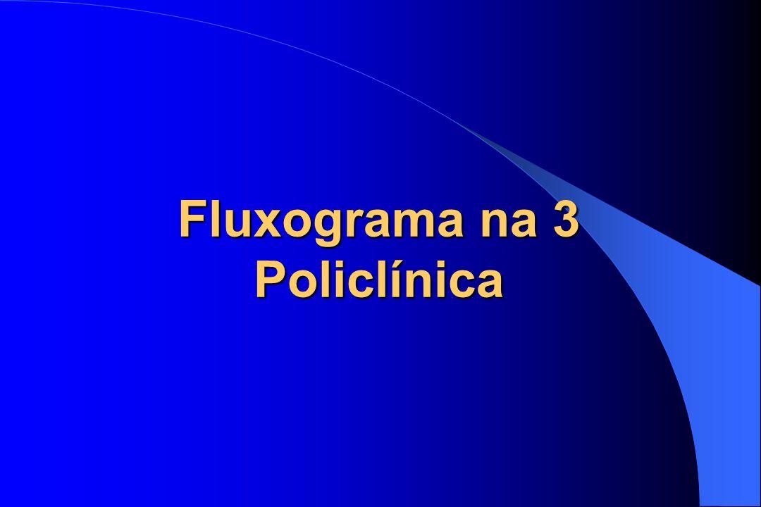 Fluxograma na 3 Policlínica