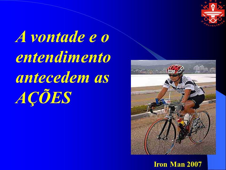 A vontade e o entendimento antecedem as AÇÕES Iron Man 2007