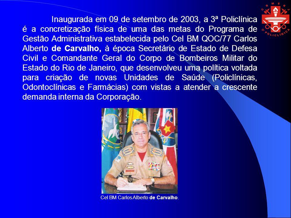 Erigida com esta missão, nosso histórico se inicia em fins de fevereiro de 2003, com a constituição de uma Comissão presidida pelo Cel BM QOS/Méd/79 Raimundo Rodrigues Santos, Diretor Geral de Saúde, para implantação desta Policlínica no município de Niterói e que teve como primeiro ato a aprovação da planta física.
