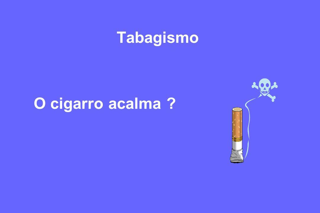 Tabagismo O cigarro acalma ?
