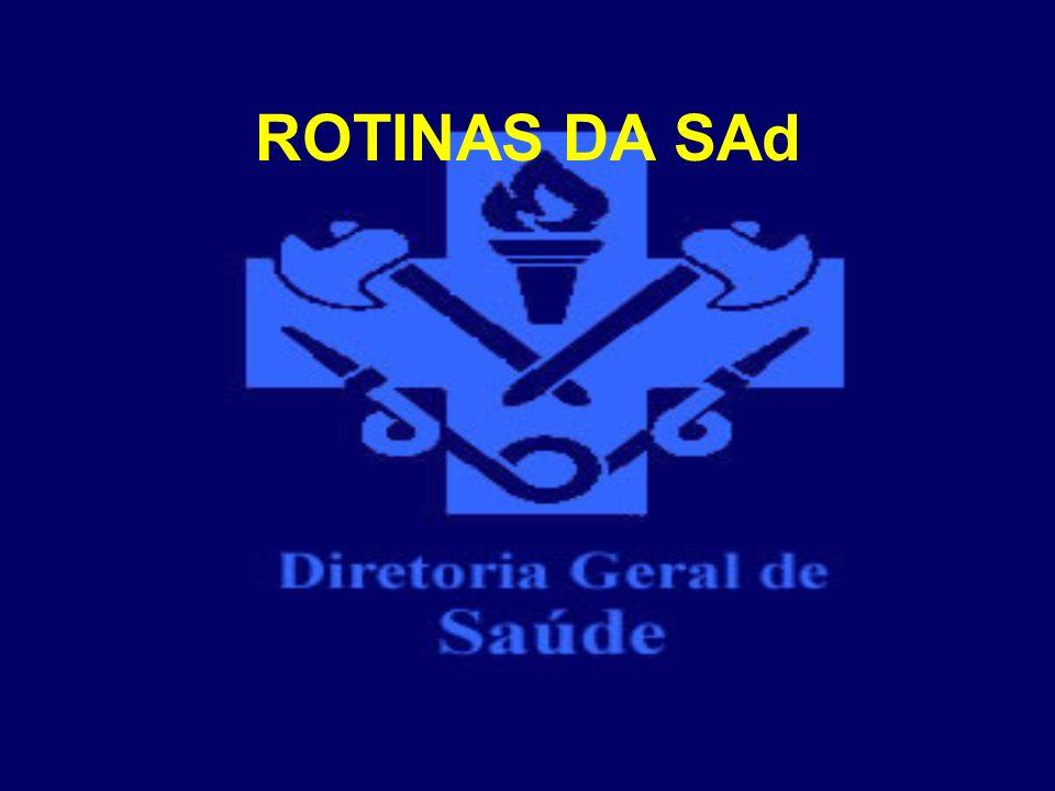 ROTINAS DA SAd