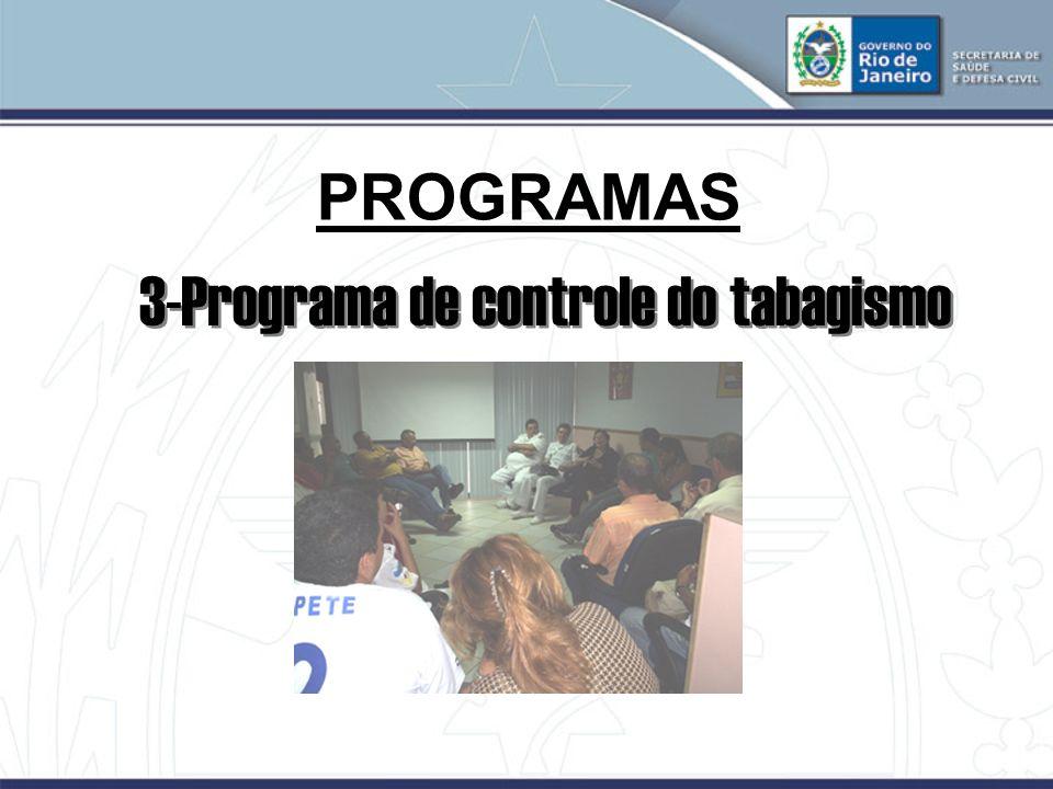 PROGRAMAS 3-Programa de controle do tabagismo