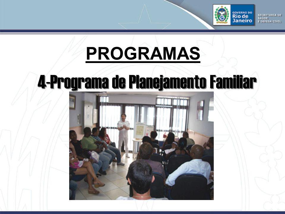 PROGRAMAS 4-Programa de Planejamento Familiar