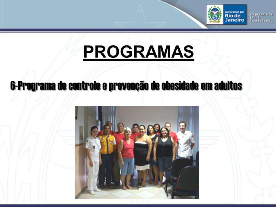 PROGRAMAS 6-Programa de controle e prevenção de obesidade em adultos