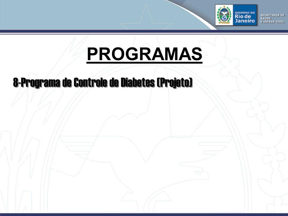 PROGRAMAS 8-Programa de Controle de Diabetes (Projeto)