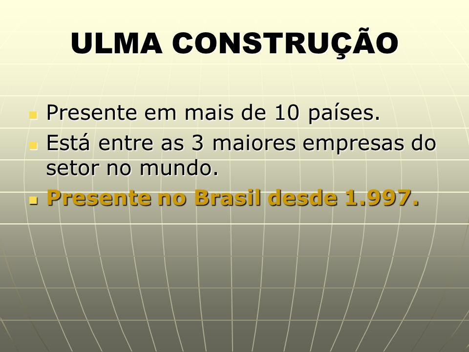 ULMA CONSTRUÇÃO - BRASIL Sede Própria em Itapevi – SP – 25mil m 2