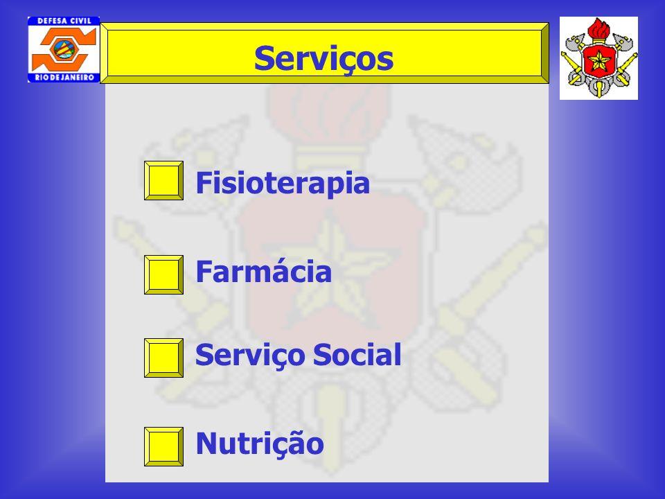 Fisioterapia Farmácia Serviço Social Nutrição Serviços