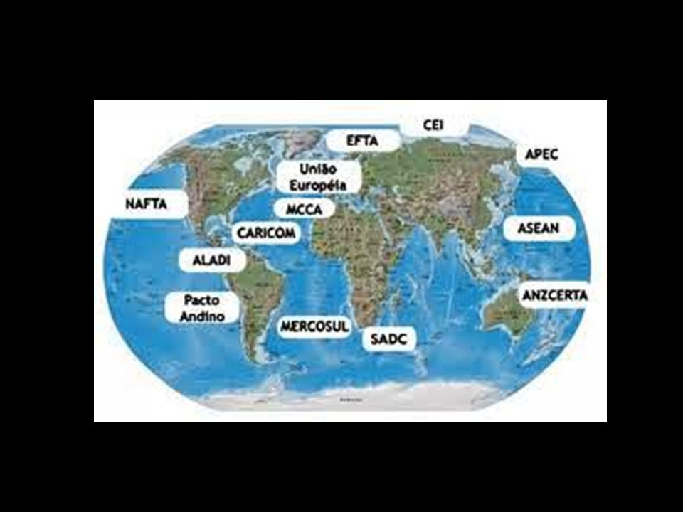 Economia Globalizada.Promover a integração, crescimento e a competitividade.