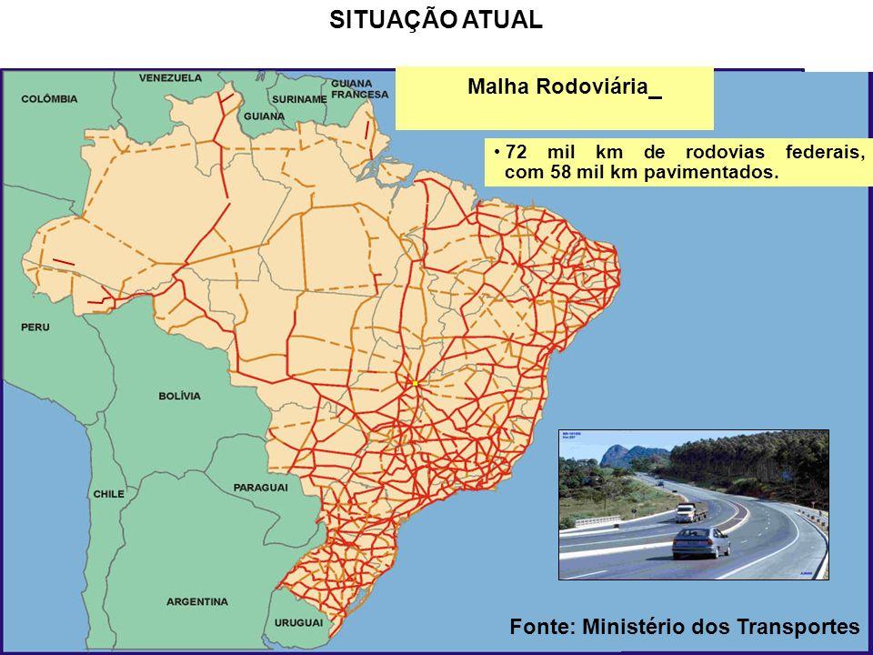 17 Pesquisa CNT de Rodovias -2010: 14,7% das rodovias avaliadas são classificadas como ótimas, 26,5% como boas, 33,4% são regulares, 17,4% estão ruins e 8%, péssimas.