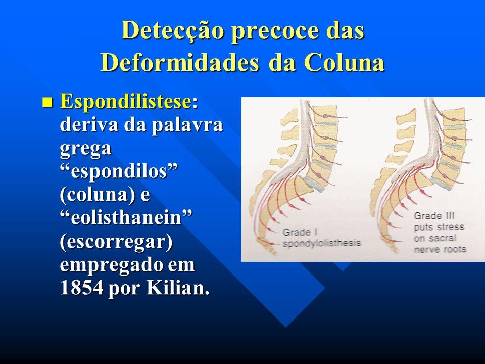 Cifose congênita. Devido a defeitos de segmentação ou defeito de formação. A cifose com defeito de formação do corpo vertebral é mais comum e muito ma