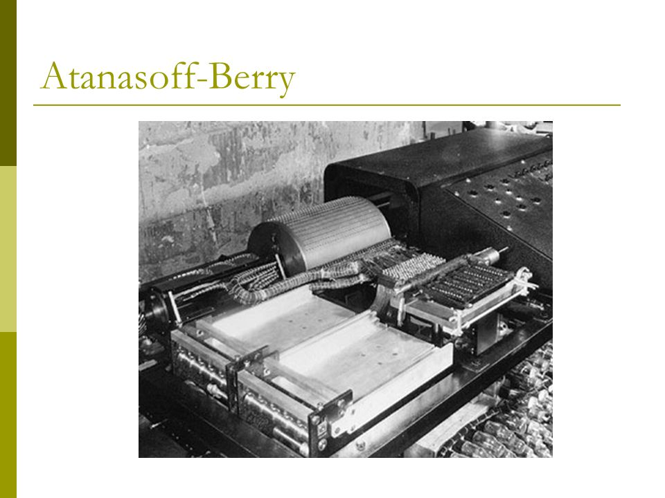 Atanasoff-Berry