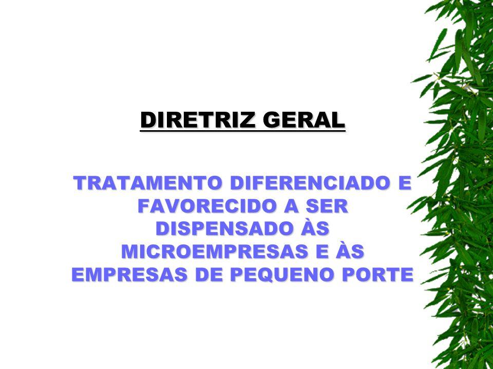 ALCANCE DA LEI As três esferas do poder, embora sem constituir um sistema legal uniforme, como previsto na proposta da Lei Geral.