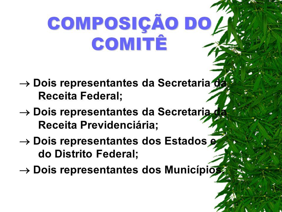 COMPOSIÇÃO DO FÓRUM Formado com a participação dos órgãos Federais competentes e das entidades vinculadas ao setor.