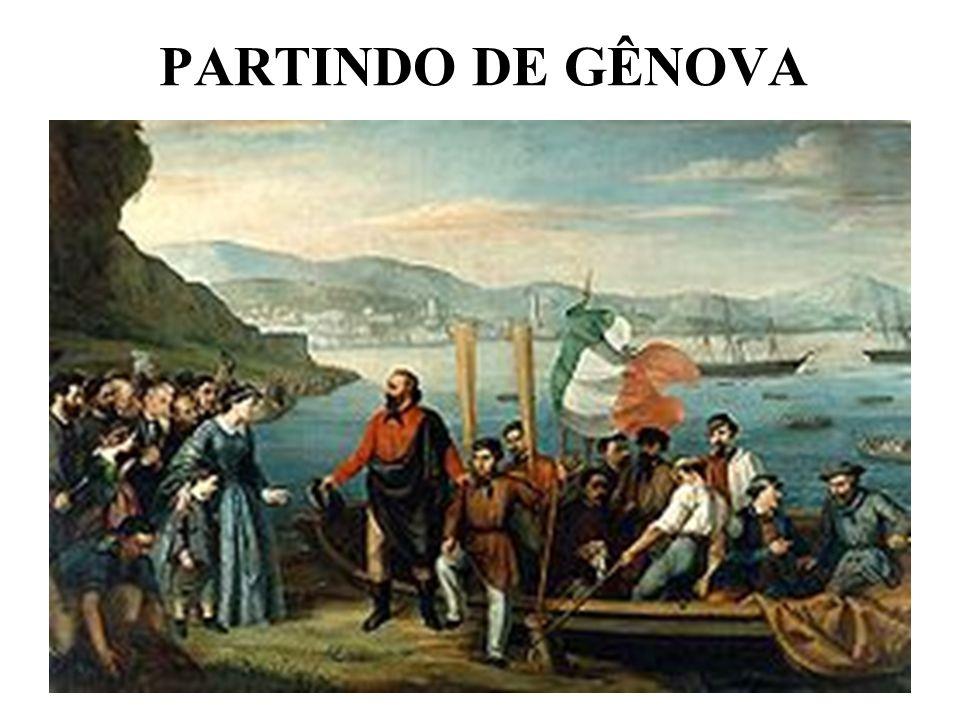 PARTINDO DE GÊNOVA