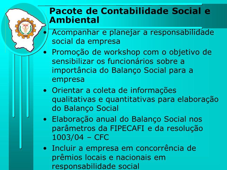 Acompanhar e planejar a responsabilidade social da empresa Promoção de workshop com o objetivo de sensibilizar os funcionários sobre a importância do