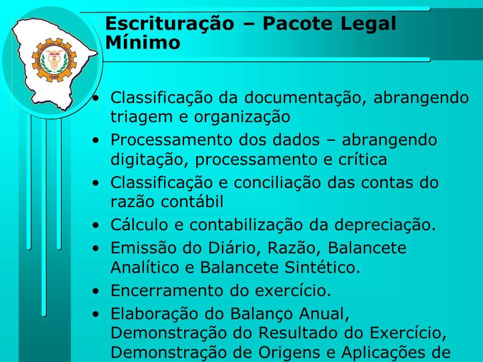 Classificação da documentação, abrangendo triagem e organização Processamento dos dados – abrangendo digitação, processamento e crítica Classificação