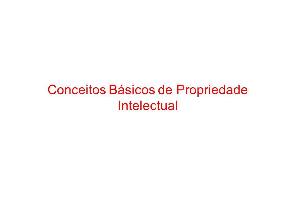 Conceitos Básicos de Propriedade Intelectual