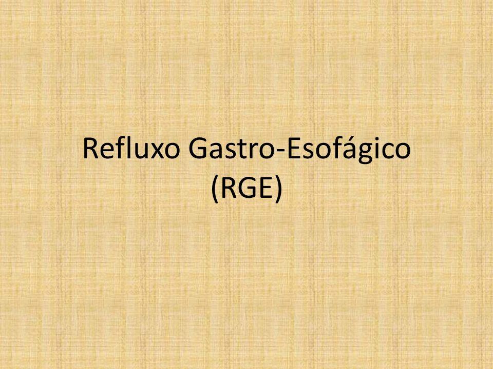 Refluxo Gastro-Esofágico (RGE)