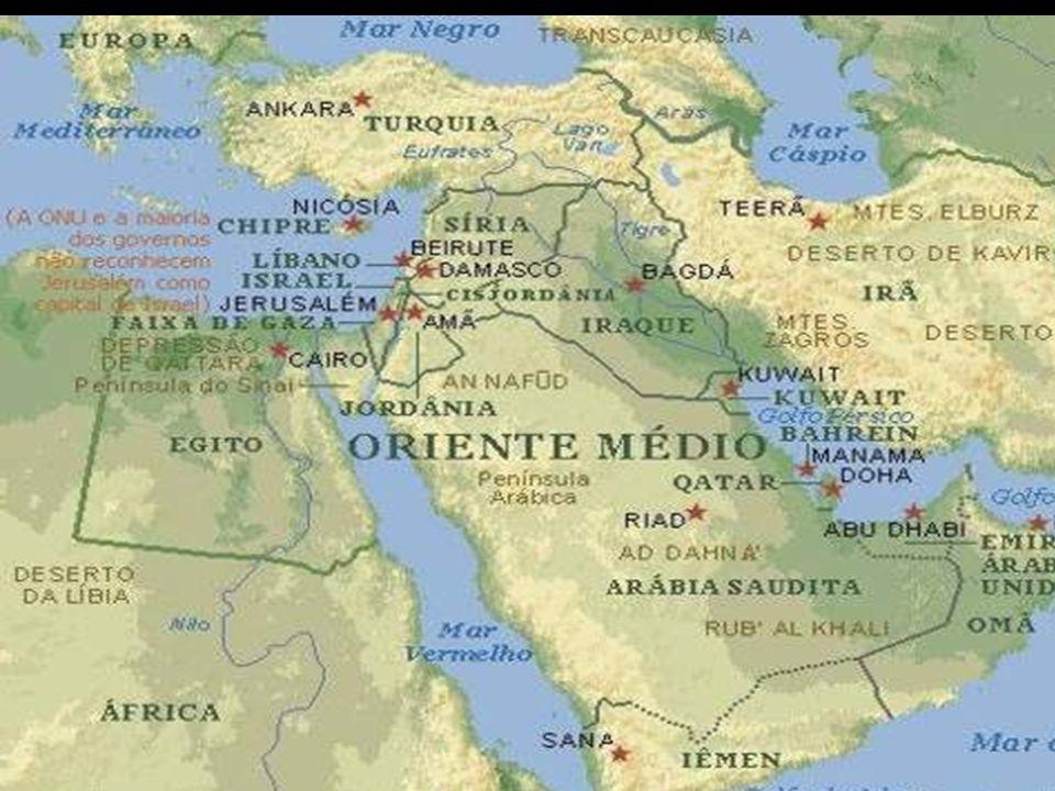O continente asiático apresenta os maiores contrastes dentre todos os continentes físicos e humanos.