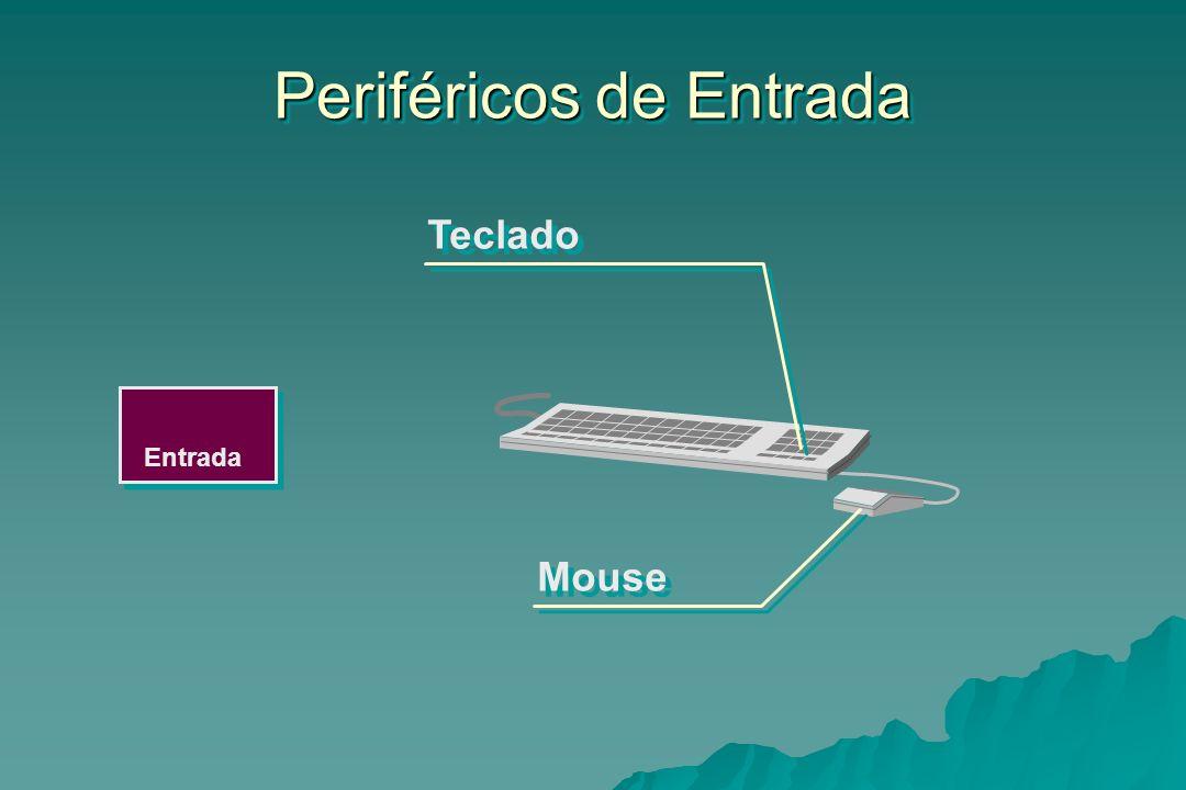 Entrada Periféricos de Entrada Teclado Mouse