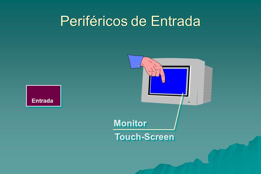 Entrada Periféricos de Entrada Touch-Screen Monitor