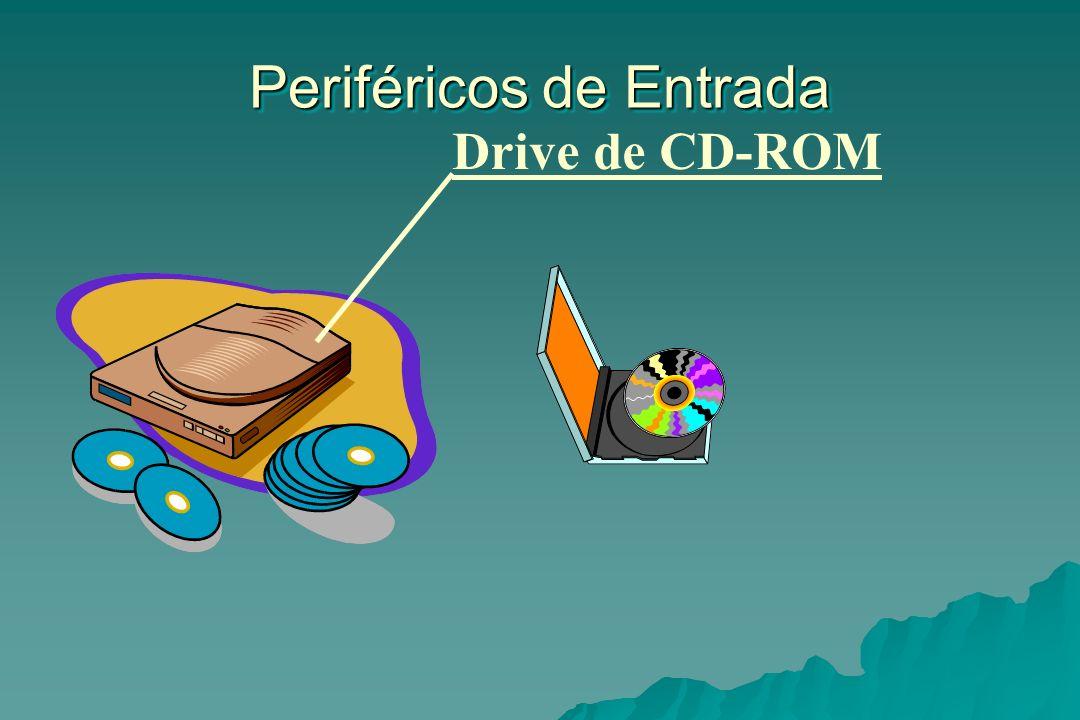 Periféricos de Entrada Drive de CD-ROM