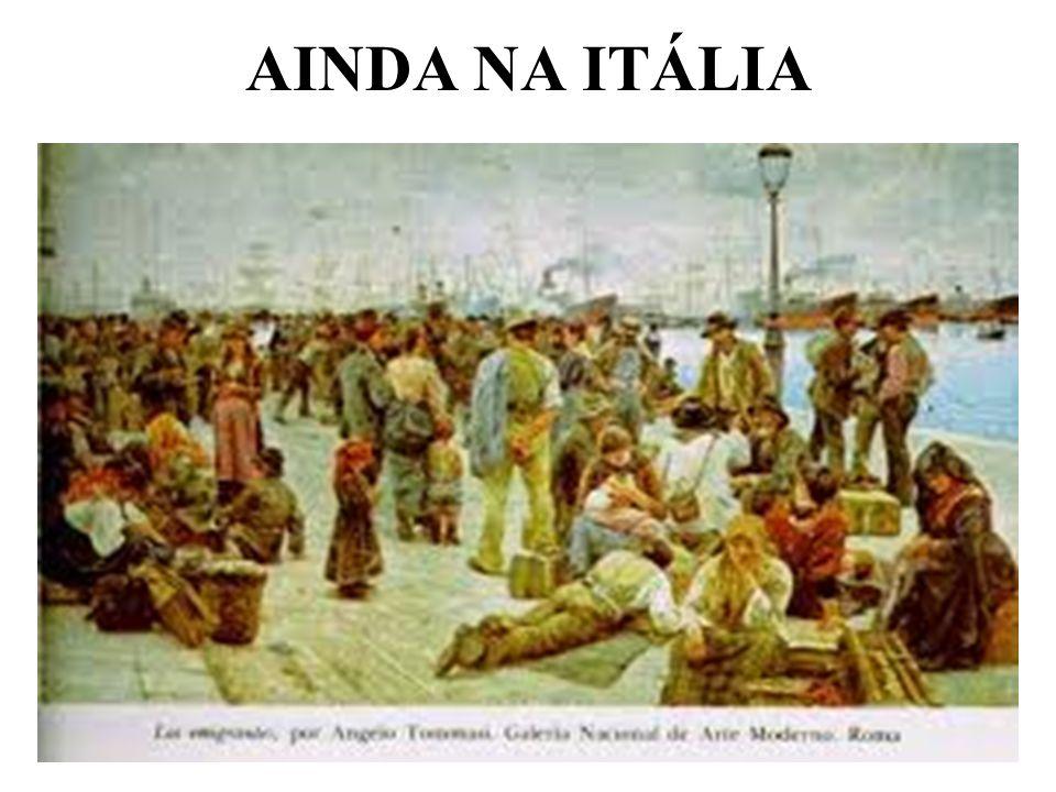 AINDA NA ITÁLIA