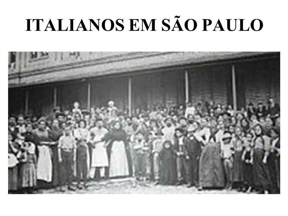 ITALIANOS EM SÃO PAULO